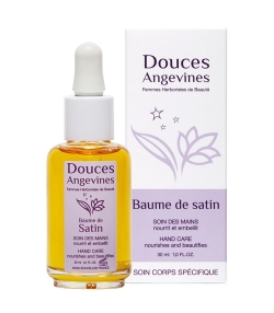 Soin des mains BIO carotte & lavande – Baume de satin – 30ml – Douces Angevines