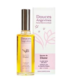 Fluide divin jolis seins BIO noyau d'abricot & rose musquée – Baume de Diane – 50ml – Douces Angevines
