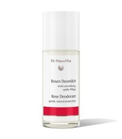 Déodorant à bille BIO rose – 50ml – Dr.Hauschka