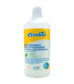 Ökologischer Mehrzweck-Reiniger hypoallergen ohne Parfum - 1l – Ecodoo