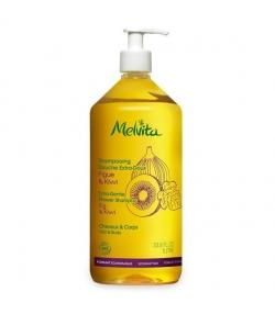 Shampooing douche extra-doux BIO figue & kiwi - 1l – Melvita