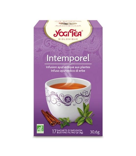 BIO-Kräutertee mit Zimt, Salbei & Oregano - Wohlfühl Tee - 17 Teebeutel - Yogi Tea