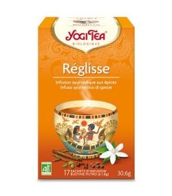 BIO-Kräutertee mit Süssholz – Lakritz – 17 Teebeutel – Yogi Tea