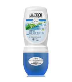 Déodorant à bille 24h Fresh BIO citronnelle & menthe - 50ml – Lavera