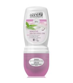 Déodorant à bille 24h Sensitive BIOlait de riz - 50ml – Lavera