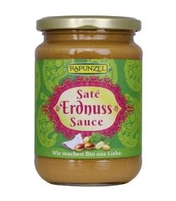 Sauce saté aux cacahuètes BIO - 350g – Rapunzel