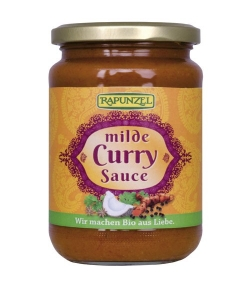 Sauce curry douce BIO – 350g – Rapunzel