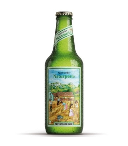 Bière blonde non filtrée BIO Naturperle - 33cl - Appenzeller Bier