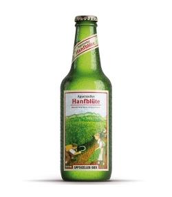 Bière au chanvre non filtrée BIO Hanfblüte - 33cl - Appenzeller Bier