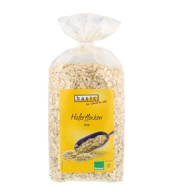 Flocons d'avoine fin BIO - 500g - Basic