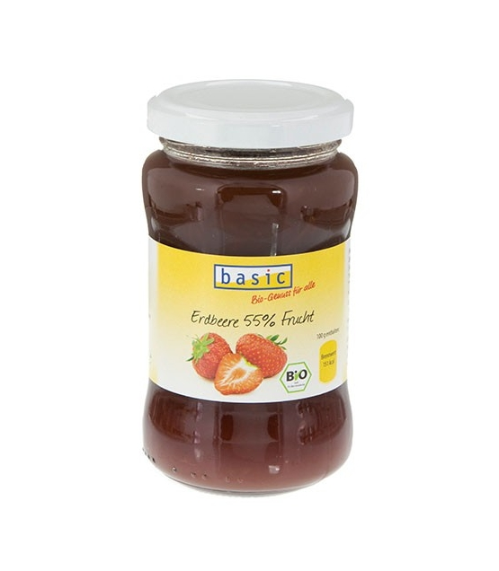Confiture aux fraises BIO - 250g - Basic