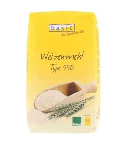 BIO-Weizenmehl - Type 550 - 1kg - Basic
