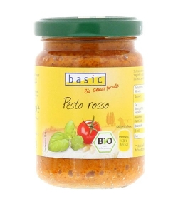 Sauce pesto rouge BIO - 130g - Basic