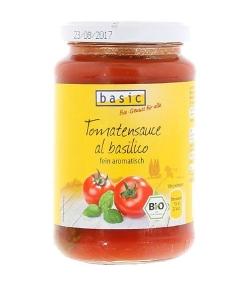 BIO-Tomatensauce al basilico - 340g - Basic