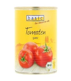 Tomates entières en conserve BIO - 400g - Basic