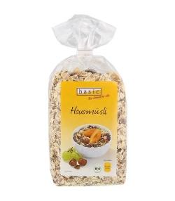 Muesli aux raisins & aux noisettes BIO - 500g - Basic