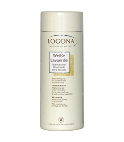 Argile blanche poudre – 150g – Logona