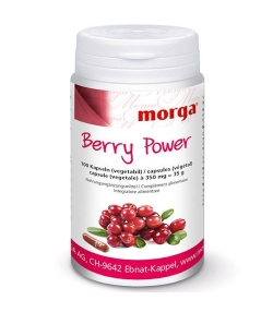 Berry Power - 100 Kapseln - 350mg - Morga