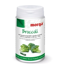 Broccoli - 100 Kapseln - 350mg - Morga