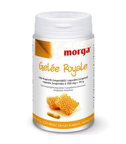 Gelée Royale - 100 Kapseln - 350mg - Morga