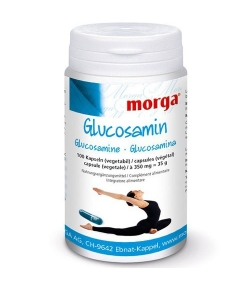 Glucosamine - 100 capsules - 350mg - Morga