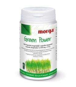 Green Power - 100 capsules - 370mg - Morga