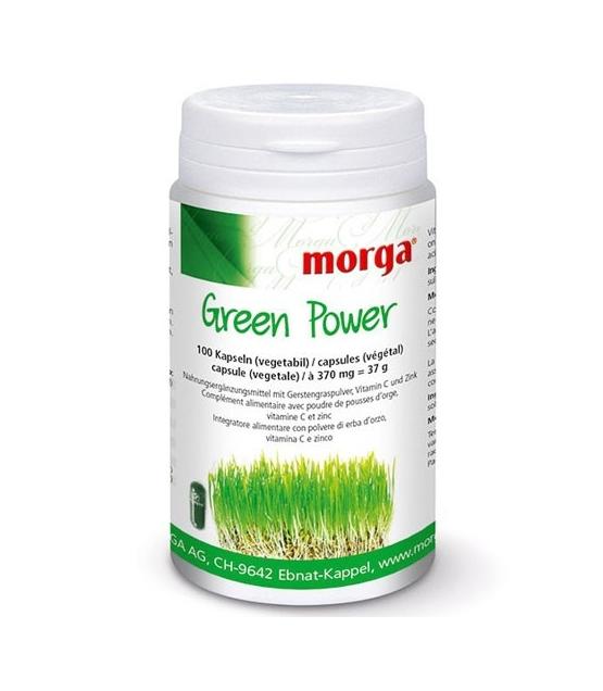 Green Power - 100 Kapseln - 370mg - Morga