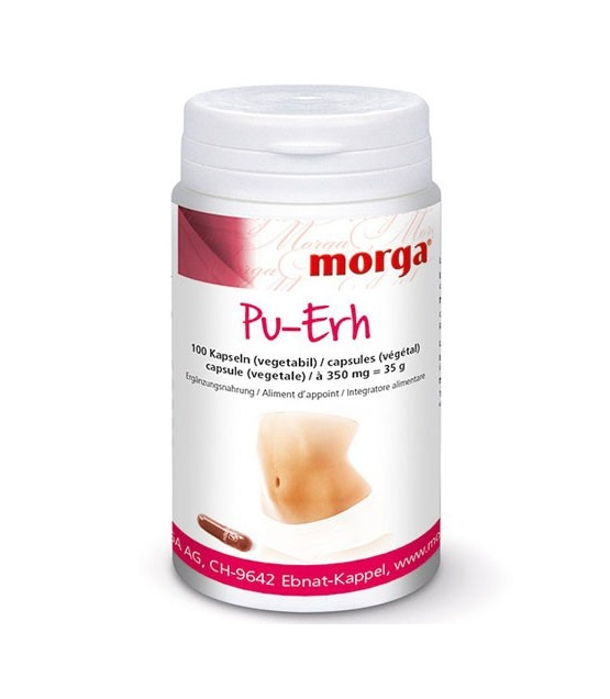 Pu-Erh - 100 capsules - 350mg - Morga