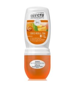 Déodorant à bille 24h BIO orange & argousier - 50ml - Lavera