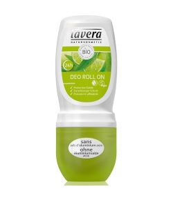 Déodorant à bille 24h BIO limette & verveine - 50ml - Lavera
