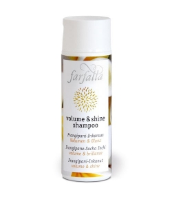 Shampooing Volume & Shine BIO frangipane & sacha inchi - 200ml - Farfalla