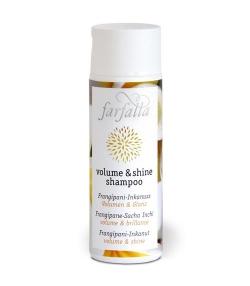 Volume & Shine BIO-Shampoo Frangipani & Inkanuss - 200ml - Farfalla