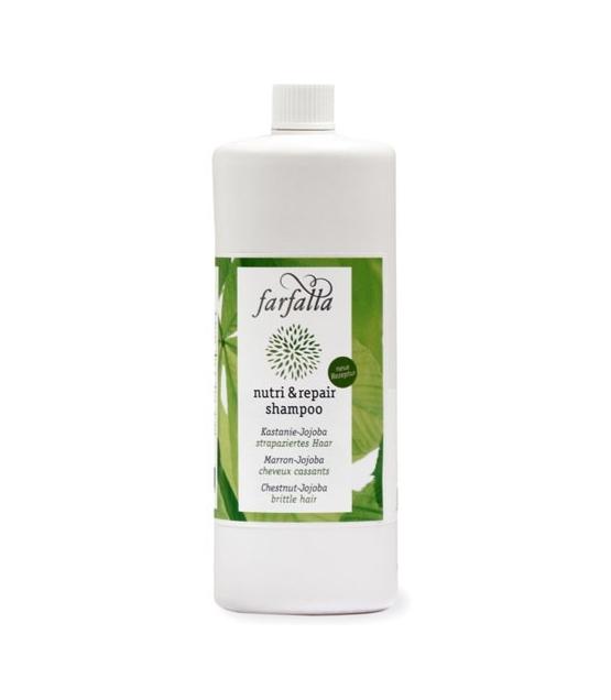 Shampooing Nutri & Repair BIO marron & jojoba - 1l - Farfalla