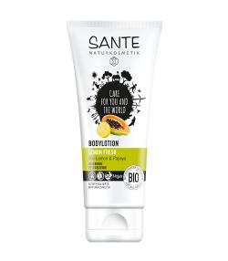 Lait corporel BIO citron & papaye – 150ml – Sante