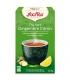 Thé vert au gingembre & citron BIO - 17 sachets - Yogi Tea