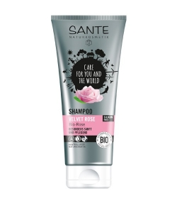 Shampooing velours BIO rose - 200ml - Sante