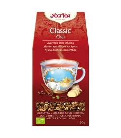 BIO-Kräutertee mit Zimt, Ingwer & Kardamom – Classic Chai – 90g – Yogi Tea