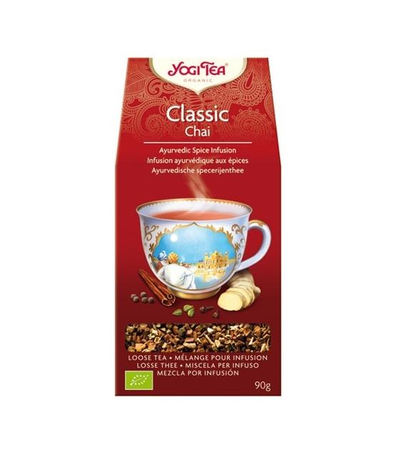 BIO-Kräutertee mit Zimt, Ingwer & Kardamom - Classic Chai - 90g - Yogi Tea