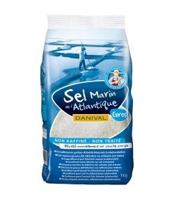 Grobes Meersalz aus dem Atlantik – 1kg – Danival