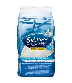 Feines Meersalz aus dem Atlantik – 1kg – Danival