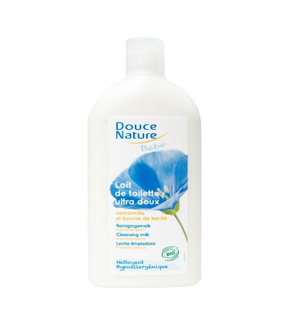 lait de toilette b b bio calendula camomille 300ml douce nature. Black Bedroom Furniture Sets. Home Design Ideas