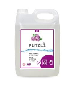 Lessive linge délicat écologique fleurie - env. 250 lavages - 5l - Putzli