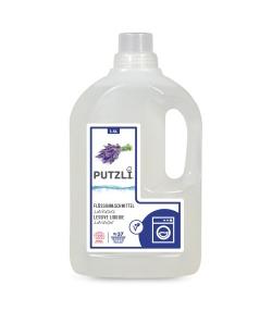 Lessive liquide écologique lavande - env. 37 lavages - 1,5l - Putzli
