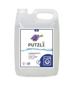 Lessive liquide écologique lavande - env. 125 lavages - 5l - Putzli