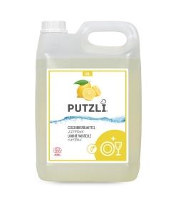Ökologisches Geschirrspülmittel Zitrone - 5l - Putzli