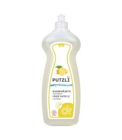 Ökologisches Geschirrspülmittel Zitrone - 750ml - Putzli