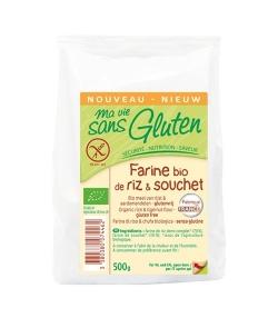 Farine de riz & souchet BIO - 500g - Ma vie sans gluten