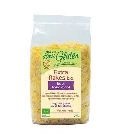 Extra flakes lin & tournesol BIO - 275g - Ma vie sans gluten