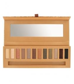 BIO-Palette 12 Lidschattenfarben Eye essential 1 - 12x0,8g - Couleur Caramel