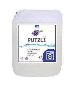 Lessive liquide écologique lavande - env. 500 lavages - 20l - Putzli